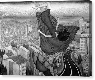 Error Canvas Print by Roya Dortolouee