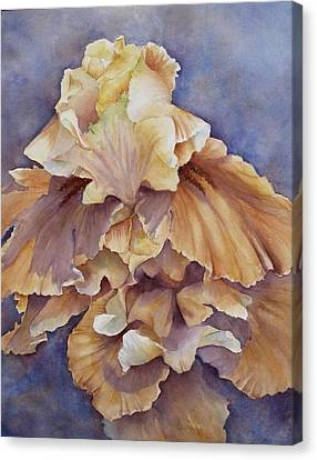 Canvas Print featuring the painting Eruption II--flower Of Rebirth by Mary McCullah