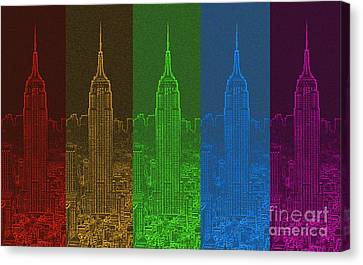 Esb Spectrum Canvas Print by Meandering Photography