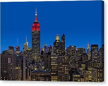 Empire State Building Canvas Print - Esb Surrounded By The Flatiron District by Susan Candelario