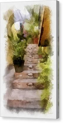 Escaleras Canvas Print