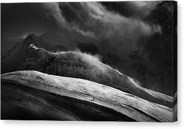 Downhill Canvas Print - Escape by