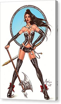 Comic Book Canvas Print - Escape From Wonderland Calie by Zenescope Entertainment