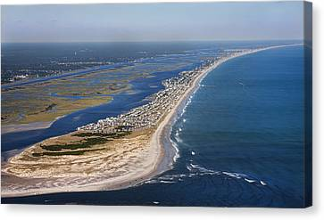 Gorgeous View Canvas Print - Escape To Topsail Island by Betsy Knapp