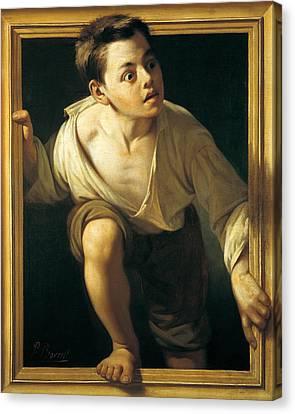 Criticism Canvas Print - Escaping Criticism by Pere Borrell Del Caso
