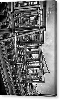 Escher Escape Canvas Print by Madeline Ellis
