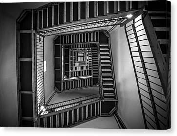 Repeat Canvas Print - Escher by Kristopher Schoenleber
