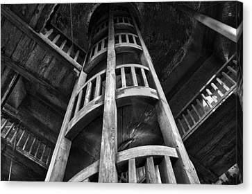 Canvas Print featuring the photograph Escher's Hideaway by John  Bartosik