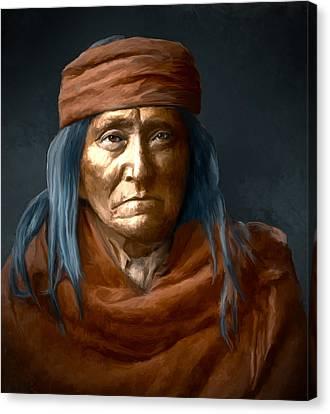 Eskadi - Apache Canvas Print