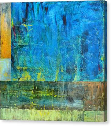 Essence Of Blue Canvas Print by Michelle Calkins