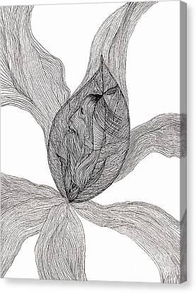 Essence Of Women Canvas Print by Mukta Gupta