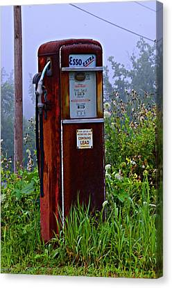 Esso Extra Canvas Print by Bill Cannon
