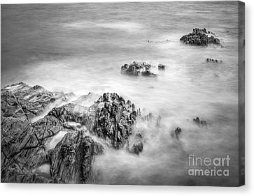 Canvas Print featuring the photograph Estacas Beach Galicia Spain by Pablo Avanzini