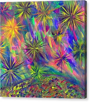 Estaraleight Canvas Print by Cyryn Fyrcyd