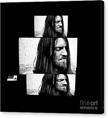 Estas Tonne's Face Canvas Print by Fei A
