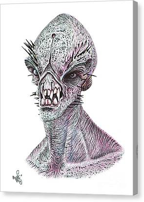 E.t. Canvas Print by Wave