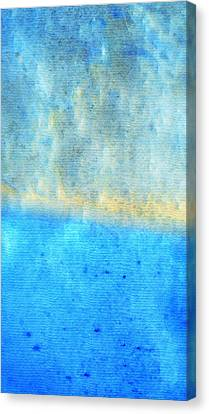 Eternal Blue - Blue Abstract Art By Sharon Cummings Canvas Print by Sharon Cummings