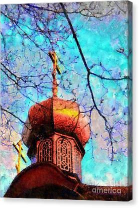 Eternal Faith Spring Canvas Print by Janine Riley