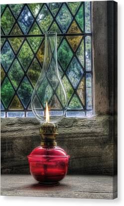 Eternal Flame Canvas Print by Ian Mitchell