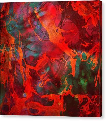 Eternal Flow Canvas Print - Eternal Flow by Ally  White