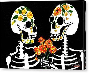 Eternal Love Canvas Print by Lori Ziemba