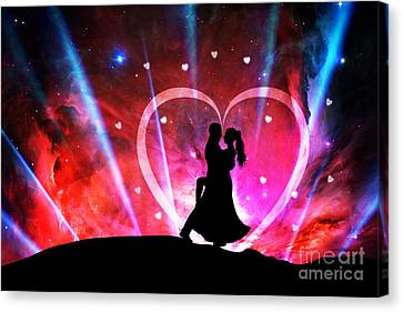 Eternal Love Canvas Print by Phill Petrovic