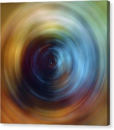 Eternal Spin Art Canvas Print by Jennifer Rondinelli Reilly - Fine Art Photography