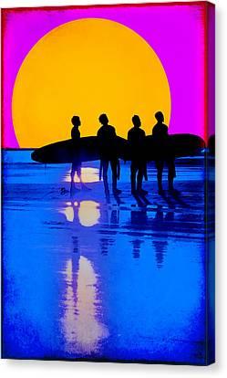 Eternal Summer Canvas Print by Lisa Knechtel