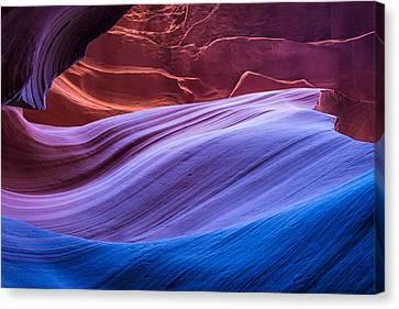 Light Canvas Print - Eternal Wave - Slot Canyon Photograph by Duane Miller