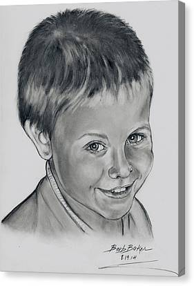 Ethan Canvas Print by Barb Baker