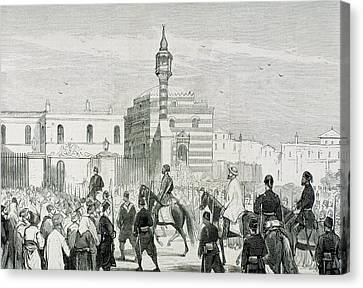 Ethem Pasha (1851-1909 Canvas Print