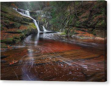 Canvas Print featuring the photograph Ethereal Autumn by Bill Wakeley