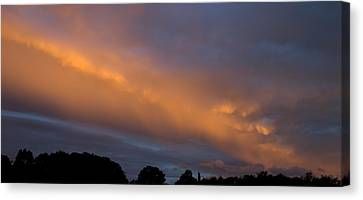 Ethereal Clouds Canvas Print by Greg Reed