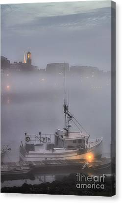 Ethereal Ebb Of Twilight Canvas Print by Scott Thorp