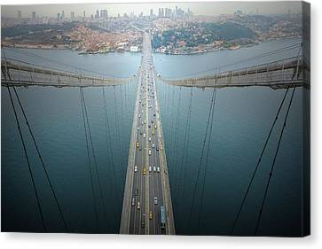 Istanbul Canvas Print - Ethereal Highways by Dr. Akira Takaue