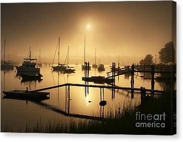 Ethereal Morning Canvas Print