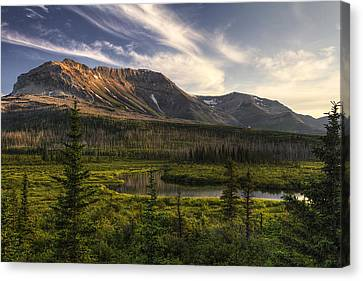 Ethereal Sofa Mountain Canvas Print by Mark Kiver
