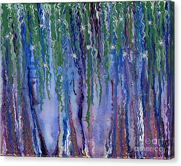 Etheric Forest Canvas Print