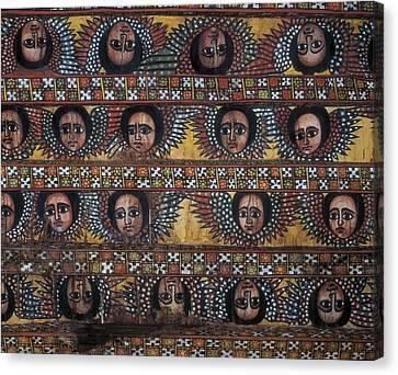 Ethiopia. Amhara. Gonderr. Debre Berhan Canvas Print by Everett