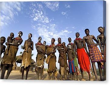 Ethiopia Groups Canvas Print