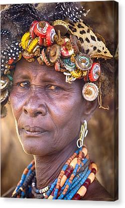 Ethiopia Women Canvas Print