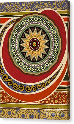 Ethnic Elegance Canvas Print by Bedros Awak
