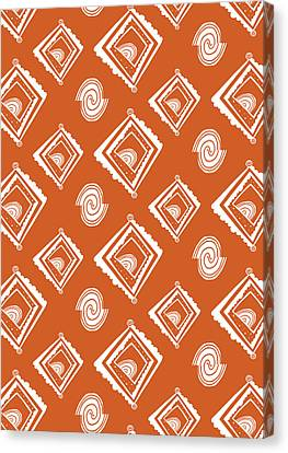 Ethnic Window Canvas Print