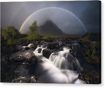 Magic Canvas Print - Etive Rainbow by Antonio Prado P?rez