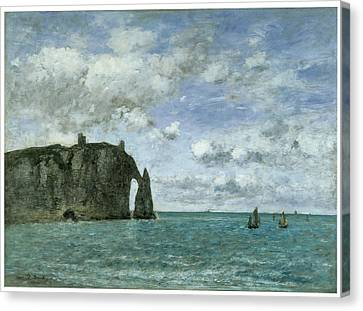 Etretat The Porte D'aval Canvas Print