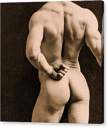 Eugen Sandow Canvas Print