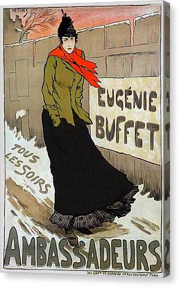 Eugenie Buffet Canvas Print by Charlie Ross
