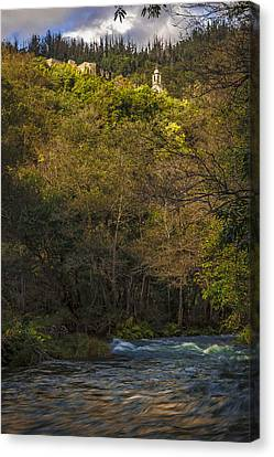 Canvas Print featuring the photograph Eume River Galicia Spain by Pablo Avanzini