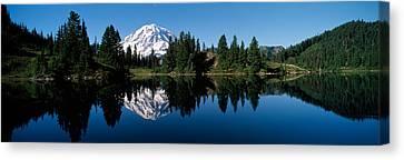 Eunice Lake Mt Rainier National Park Wa Canvas Print by Panoramic Images