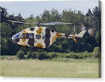 Eurocopter Uh-72a Lakota Of The U.s Canvas Print by Timm Ziegenthaler